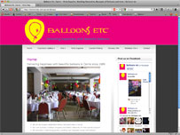 Balloons etc party supplies, wedding Decorations cairns
