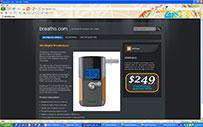 AlcoDigital Breathalyzer | Buy Online