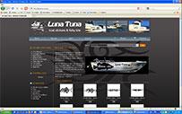 luna Tuna Fish & boat Stickers