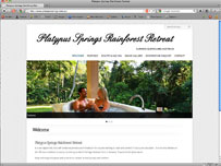 Platypus Springs Rainforest Retreat - day spa massage bnb, kuranda accommodation