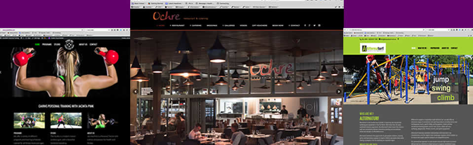 justpurple web design