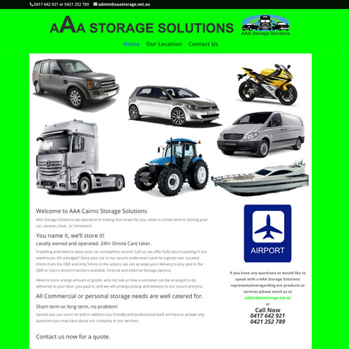 AAA Storage Solutions Cairns