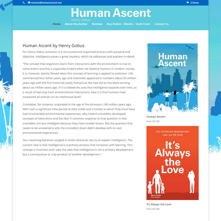 Human Ascent by Henry Gobus