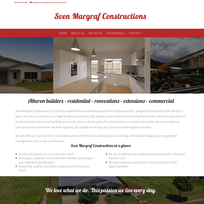 Sven Margraf Constructions