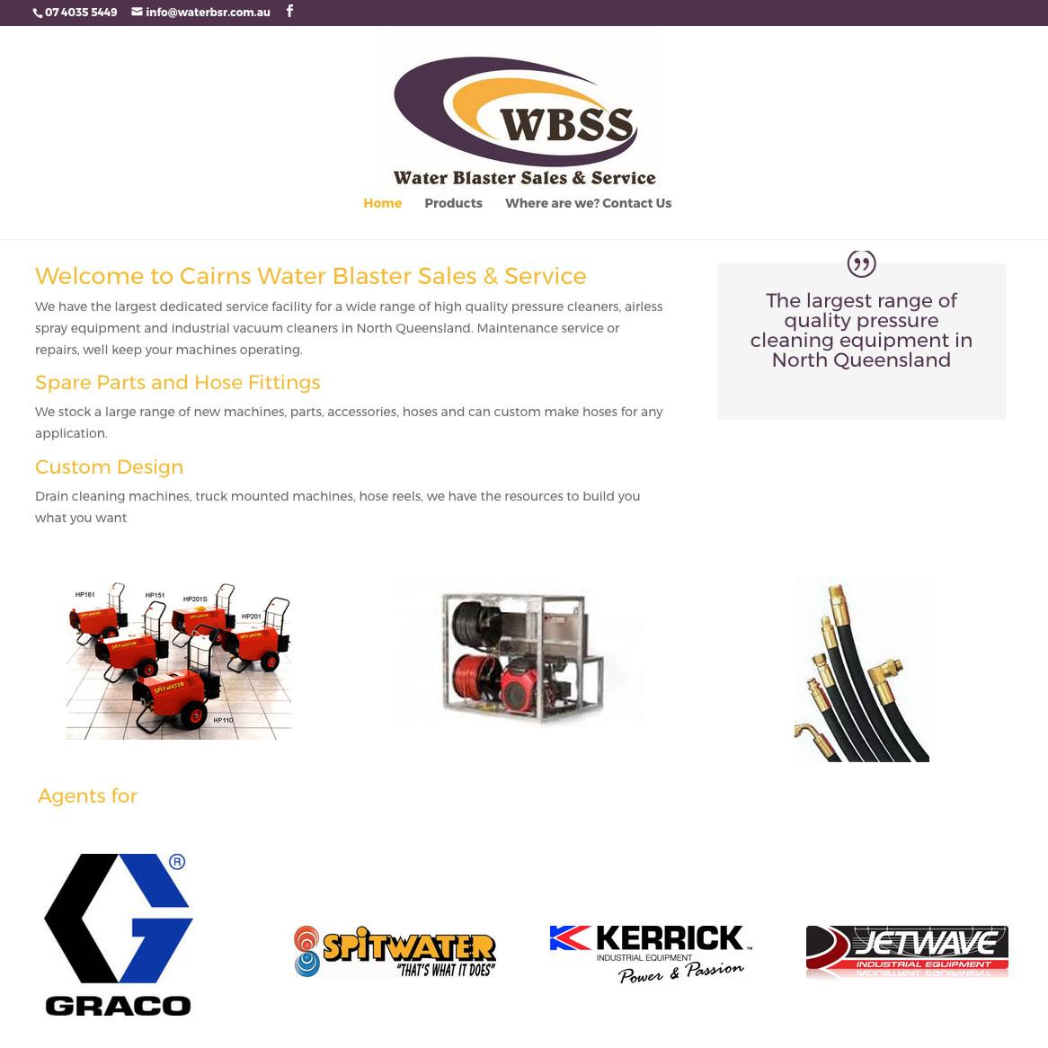 Water Blaster Sales & Service