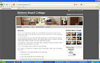 Bicheno Beach Cottage holiday houses tasmania beach cottages