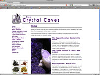 Crystal Caves Atherton Tablelands  Home of the worlds biggest Amethyst Geode