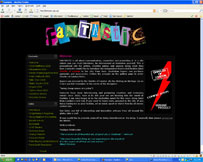 Fantastic - Promotional site for artists Charles of London