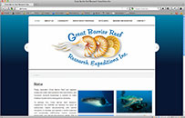GREAT BARRIER REEF RESEARCH EXPEDITIONS
