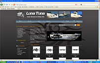 luna Tuna Fish & boat Stickers