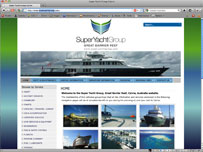Super Yacht Group Great Barrier Reef  Services for super yachts arriving to Cairns
