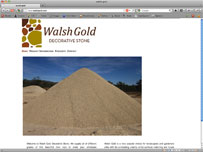 Walsh Gold Decorative Stone cairns garden stones