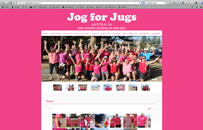 Jog for Jugs - Run for Breast Cancer