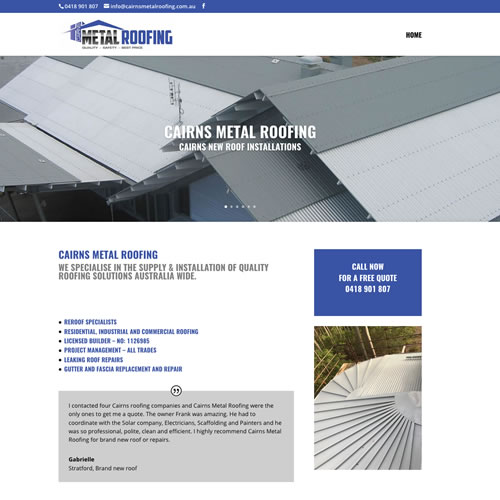 Cairns Metal Roofing