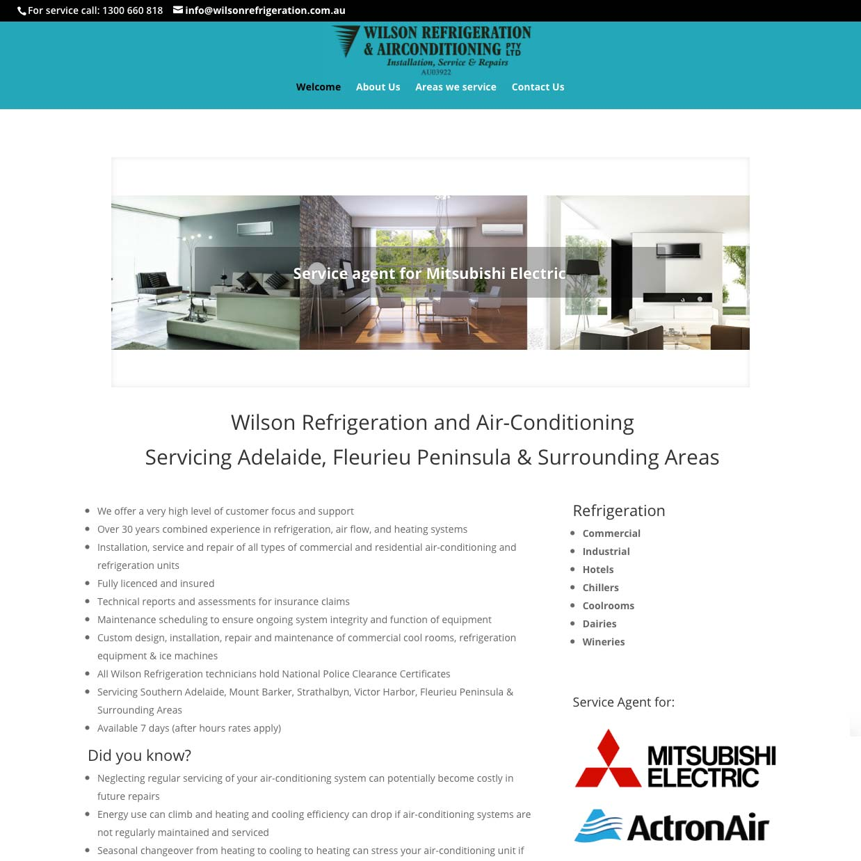 Refrigeration & Airconditioning Adelaide