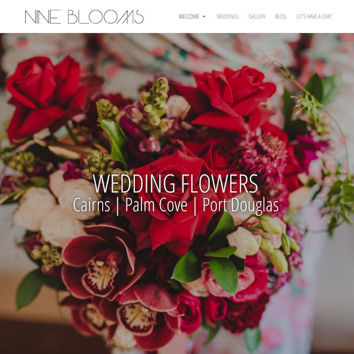 Nine Blooms Cairns Wedding Florist
