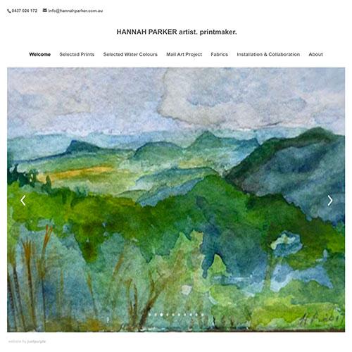 Hannah Parker Printmaker Cairns